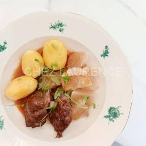 Schweinbackli-Sellerie-DampfKartoffeln