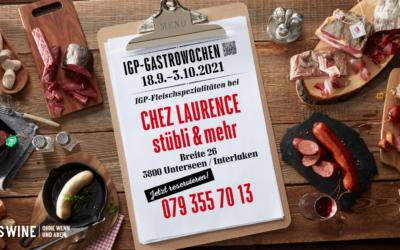 • IGP Gastroweeks • Lunch • 28.9-1.10 •